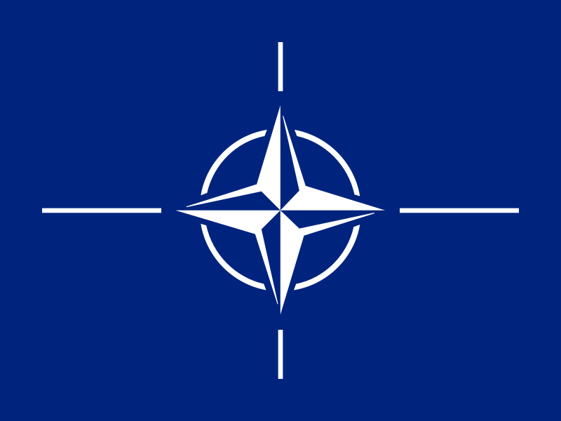 NATO Flag, The Greatest Cell of The Free World Alliance